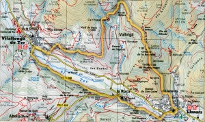 ruta-llanars-vilallonga-la-roca-mapa