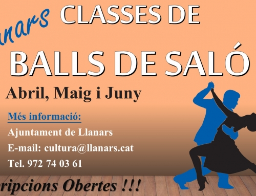 CLASSES DE BALLS DE SALÓ