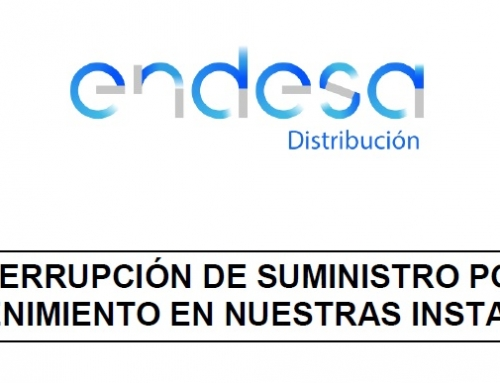 TALL DE SUBMINISTRAMENT – ENDESA